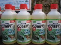 冬の消毒に『マシン油 乳剤』