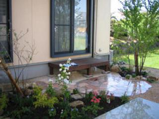 駐車場・ガーデン工事 菊池市S様邸 2009年