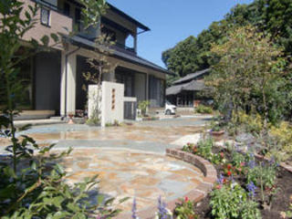 門周り・ガーデン工事 菊陽町S様邸 2009年9月