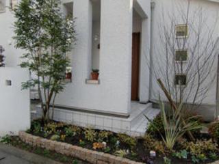 植栽工事 熊本市H様邸 2009年12月