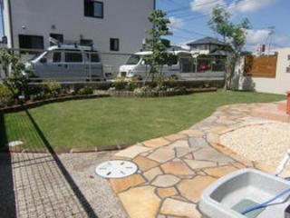 ガーデン工事 菊陽町K邸 2011年6月