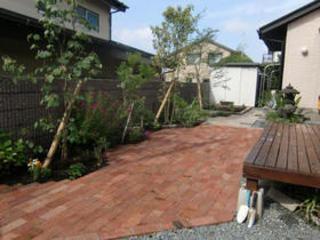 庭リフォーム工事・雑草対策 熊本市T邸 2011年5月