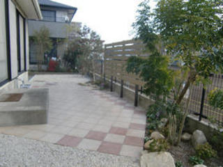 手に負えなくなったお庭のリフォーム2011年12月 熊本市N様邸