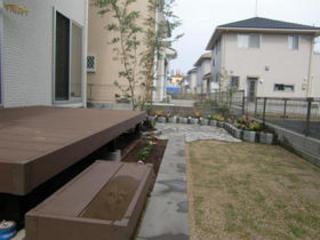 子どもと楽しむお庭 熊本市北区W邸 2012年5月