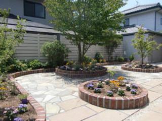 お庭のリフォーム 大津町Ⅰ様邸 2012年7月