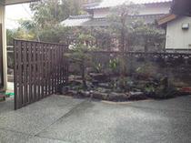 今あるものを最大限に活かす!庭リフォーム 阿蘇市T様邸 2012年11月